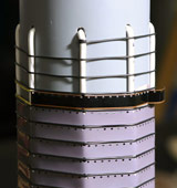 The tube completed with guidance base